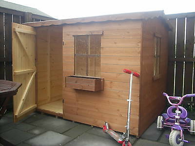 CHILDRENS PLAYHOUSE 6X6 Tanalised Treatment Single Storey Kids House