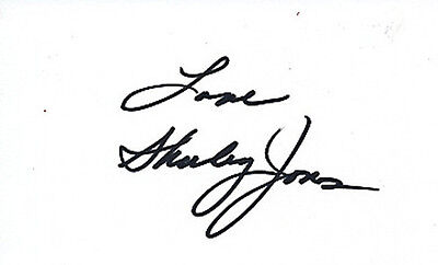Shirley Jones SIGNED 5x3 card #13 - The Partridge Family and Oklahoma!