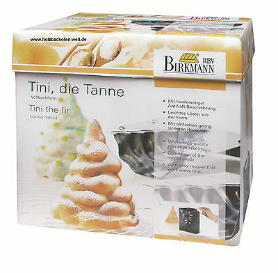 BIRKMANN 211711 3-D Backform Tini die Tanne Vollbackform Baking Moduld