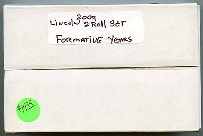 Unopened Box 2009 Lincoln Cent Pennies - Formative Years US Mint - K50C AF481