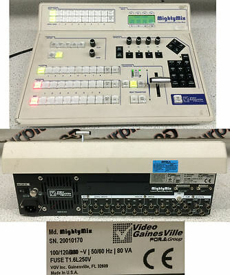 Video GainesVille Mighty Component Digital/Analog Video Mixer