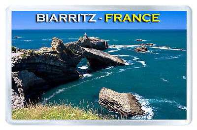 Biarritz France Mod3 Fridge Magnet Souvenir Iman Nevera