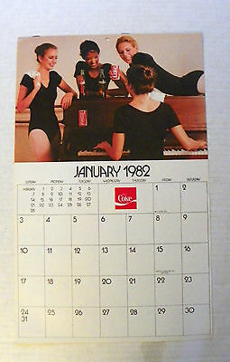 "(*last* Dealer Lot 0F 25)  1982 ""coca-Cola"" Calendars * New Old Stock"
