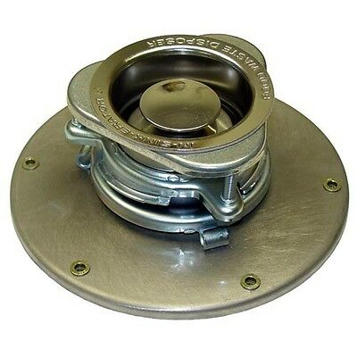 """3-1/2"""" To 4"""" Sink Opening Adapter, 9-1/4"""" Dia Base Plate; 262775"""
