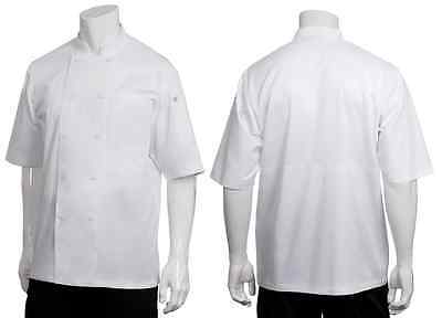 Chef Jacket White Short Sleeve Chef Works Montreal Cool Vent All Sizes XS - 3XL