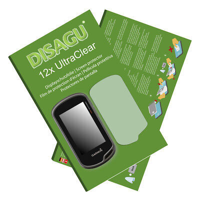 12x UltraClear Screen Protector for Garmin Oregon 600t