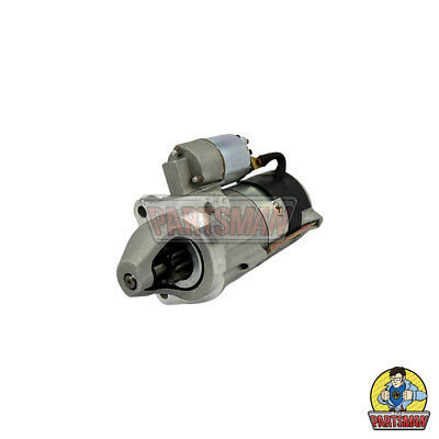 Starter Motor Marelli Replacement 12V 3.0KW CW 10T JCB Tractor W/Perkins Diesel