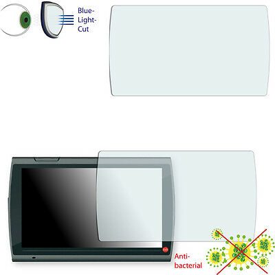 2x DISAGU ClearScreen screen protection film for Falk Neo 640 LMU antibacterial