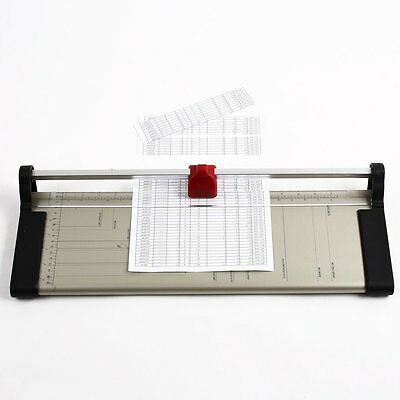 Pro A3 A4 A5 Precision Photo Paper Guillotine Cutter Trimmer Home Office Arts UK