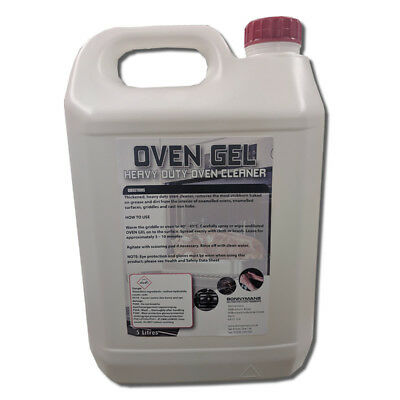 Oven Gel - Heavy Duty cleaner/decarboniser