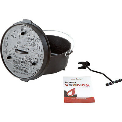 BBQ-Scout Deluxe Dutch Oven DO-12 - 10 Jahre Special-Edition