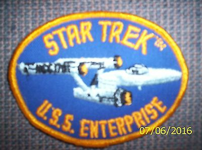 Star Trek.U.S.S.  Enterprise New Patch [ BLUE ]