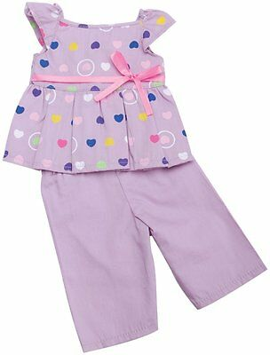 The Springfield Collection by Fibre-Craft Pajama Outfit, Purple Top and Pants