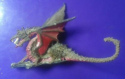 DG2 Red dragon 1980s tom meier ral partha citadel gw import dragons metal #B