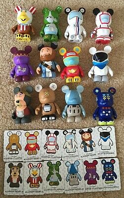 Disney Vinylmation Park 3 - Complete Set of 12 with Chaser