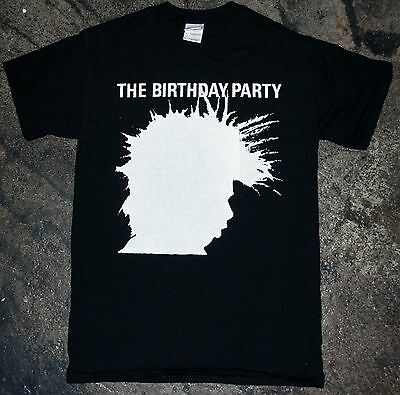 The Birthday Party - 'Shadow' T-Shirt (bad seeds x chosen few nick cave)