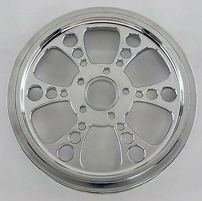 "Kool Kat 70T Tooth Polished Pulley 1-1/8"" Harley Flht Electra Glide Ultra 04-06"