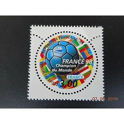 Timbre N° 3170 Neuf ** - France 98, coupe du monde de football