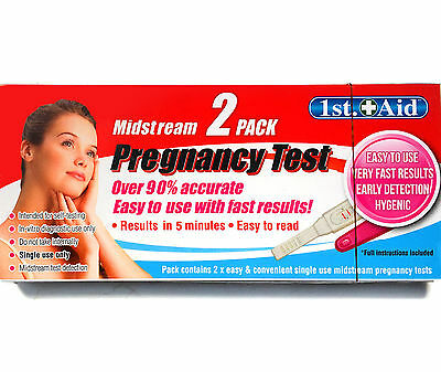 2 Pack Pregnancy Test Easy and Accurate Fast Results Midstream Home Testing Kit