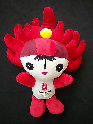 Orig.mascot    Olympic Games BEIJING 2008 - HUANHUAN  !!  30 cm / mint condition
