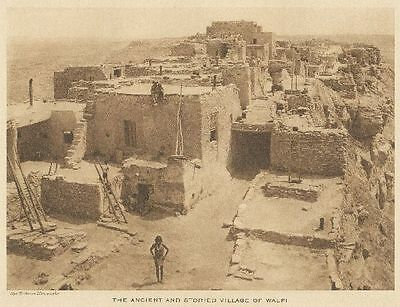 The Vanishing Race - The Ancient And Storied Village Of Walpi - Hopi