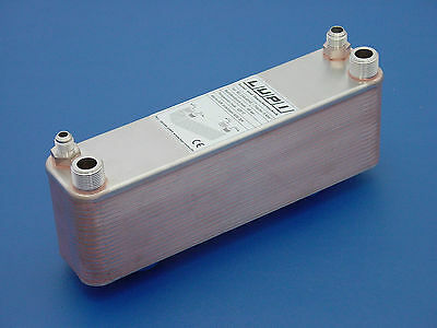 Plate heat exchanger for Refrigeration technology B3-23A-40-45 Split Air Flange
