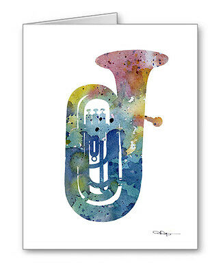 TUBA Note Cards With Envelopes