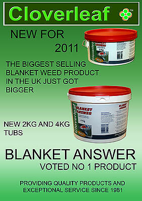 cloverleaf blanket answer 4kg tub