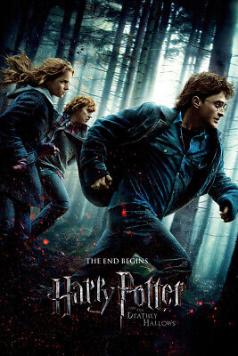 Harry Potter And The Deathly Hallows Part 1 - Movie Poster (Regular Style)