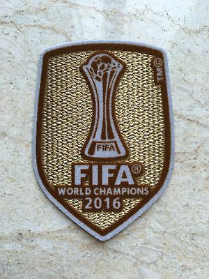 2016 UCL UEFA FIFA World Champions League Badge Patch For Real Madrid Jersey