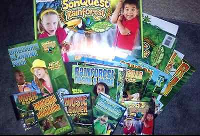 SonQuest Rainforest VBS 2017 Kit Sunday School Kids Vacation Bible School Kit