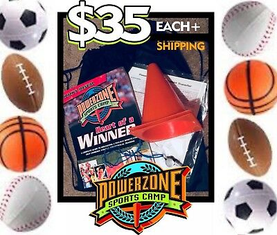 PowerZone Sports Camp - VBS 2017 Vacation Bible School Kit