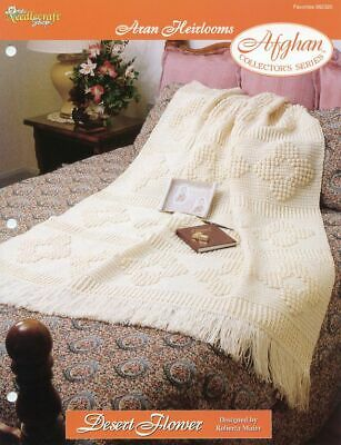 Dealer/'s Choice Afghan TNS Aran Heirlooms Crochet PATTERN//INSTRUCTIONS NEW