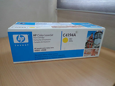 Genuine New HP Color LaserJet C4194A Yellow