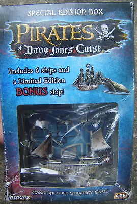 5 Pirates of Davy Jones Curse special edition card game