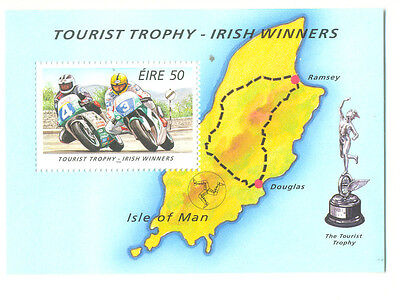 Ireland-Irish TT Winners min sheet mnh-Motorcycles