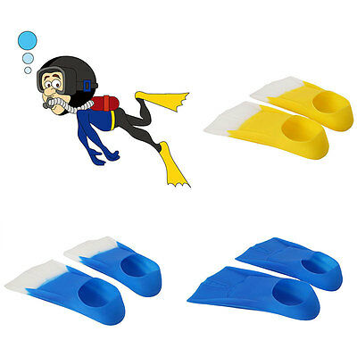 Swim Snorkeling Scuba Diving Flippers Silicone Fins Swimming Training Equipment