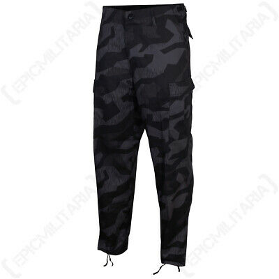 US RANGER BDU TROUSERS - SPLINTER NIGHT - Military Army Combat Cargo Pants