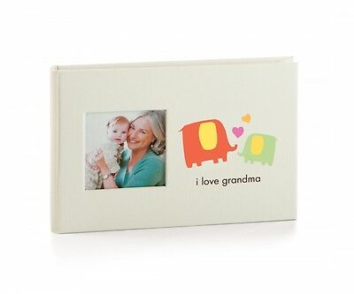 Pearhead Baby Brag Book I Love Grandma Boasting Book Photo Album Holds 24 Photos