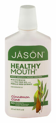 New Jason Natural Products Mouthwash,Healthy Mouth 16 Oz Pack of 3