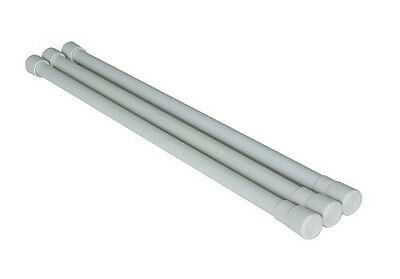 Camco 44053 RV Expandable White Refrigerator Bars - 3 Pack