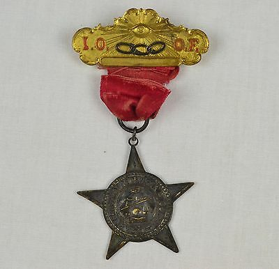 Independent Order of Odd Fellows Badge - 1837 Grand Lodge of Virginia