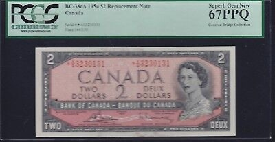 1954 Bank of Canada $1 Devil's Face PCGS Choice New 63PPQ - F/A1446609