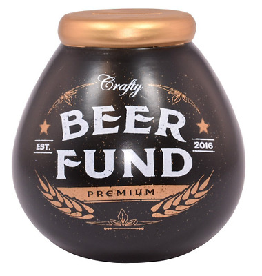 Pot Of Dreams Beer Fund Money Box New Boxed Gift
