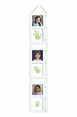 Pearhead Tiny Ideas Baby Child Handprint & Photo Growth Height Chart NEW