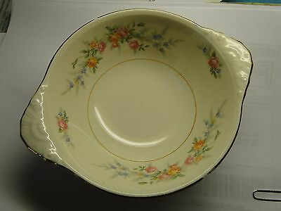 Homer Laughlin Eggshell Nautilus Ferndale Lugged Cereal Bowl