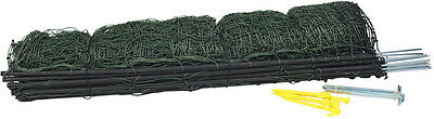 """40"""" x 164' Green Poultry and Goat Electric Mesh Net Fence"""