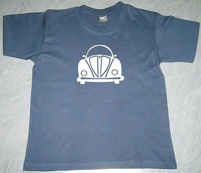 Boys Girls Kids Baby VW Beetle (3) T Shirt SG Short Sleeve Cotton Personalised