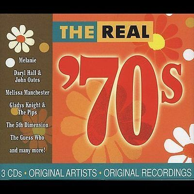 The Real 70'S Cd - Various Artists [3 Discs](2004) - New Unopened