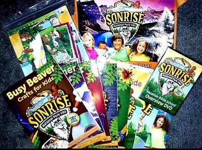 SonRise National Park VBS 2017 Kit Sunday School Kids Vacation Bible School Kit